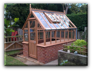Wilshire greenhouses wooden greenhouse manufacturer of for Victorian style greenhouse
